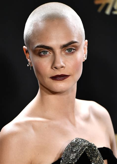 celebrities with big heads and short hair shaved heads female buzz cut hairstyles hairdrome com