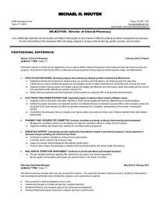 pharmacist resume sle canada pharmacist consultant cover letter clinical