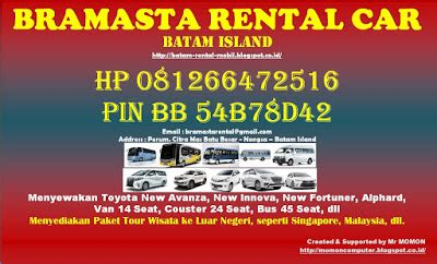 Hp Bb Di Batam grup batam hp 081266472516 jasa rental mobil di batam