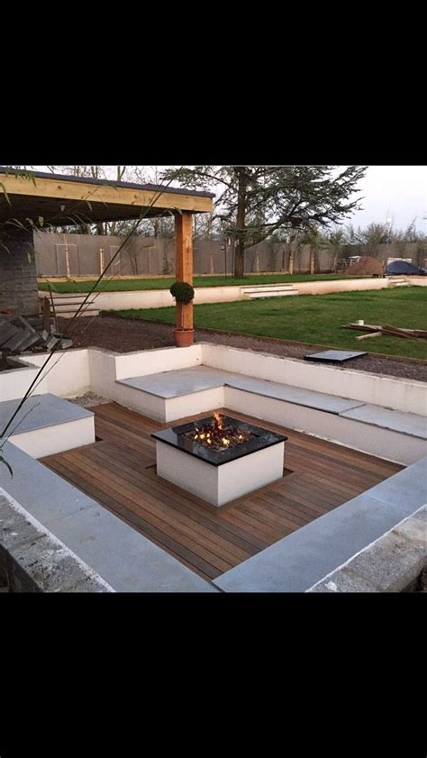 sunken backyard fire pit the 25 best sunken fire pits ideas on pinterest stone