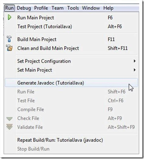 javadoc tutorial tutorial java 6 2 2 how to generate javadoc in eclipse