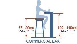 Standard Bar Stool Seat Height by Bar Table Standard Height Bar Stools Bar