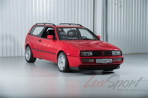 volkswagen corrado two unique vw corrado magnum sport kombi prototypes for