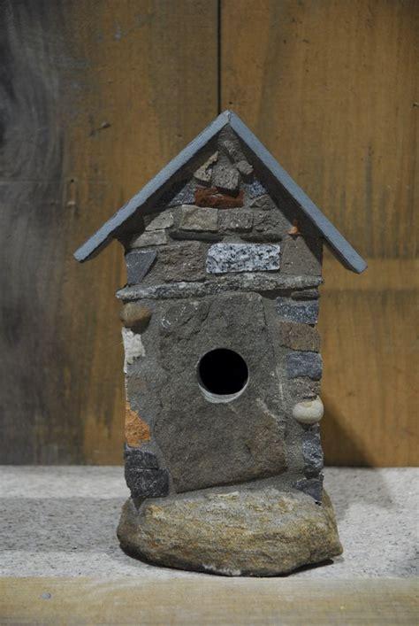 stone birdhouse birdhouses pinterest