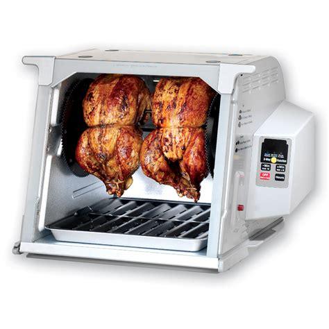 Rotisserie Countertop by Shop Ronco 1 250 Watt Platinum Countertop Rotisserie Oven