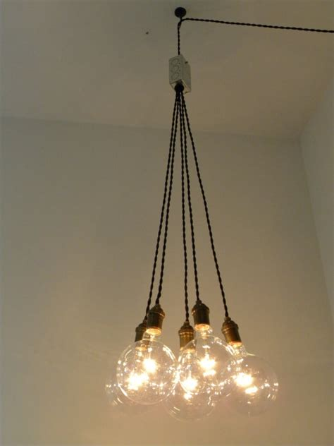 Plug In Cluster Chandelier Pendant Lighting Modern Swag Custom Chandelier With In Cord