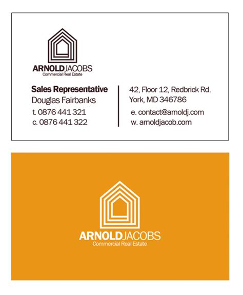 real estate business card template photoshop 5 photoshop psd business card design templates for real