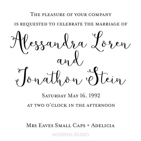 wedding font mrs eaves small caps mrs eaves small caps butterflywaltz wedding fonts custom