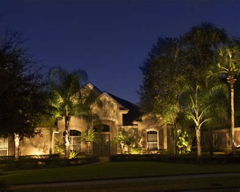 professional landscape lighting design in lake fl