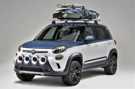 fiat cer vans fiat 500l concept inspired by vans and surfing