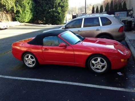 auto body repair training 1993 porsche 968 windshield wipe control buy used 1992 968 porsche coupe in kalama washington united states for us 8 999 99