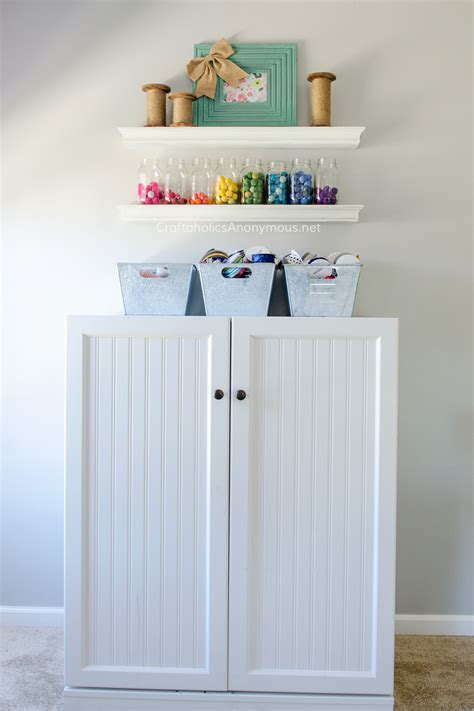craft room storage cabinets craftaholics anonymous 174 craft room tour
