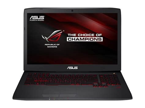 Asus Rog G751jt Ch71 Gaming Laptop asus rog g751jt ch71 i7 17 3 quot fhd ips gtx 970m 1tb 1