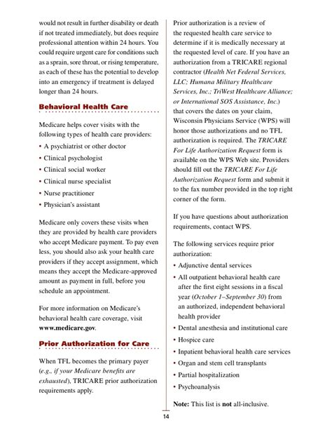Tricare Standard Emergency Room by Tricare For Life Handbook 2011 Smaller Lo Res