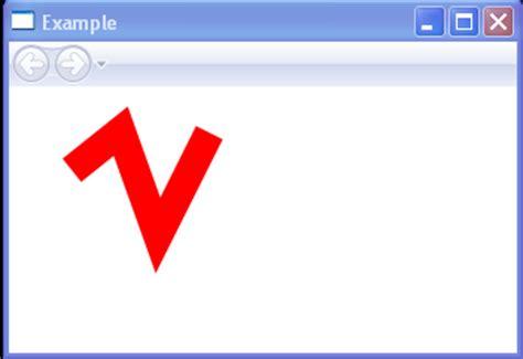 java pattern line end strokeendlinecap square stroke 171 windows presentation
