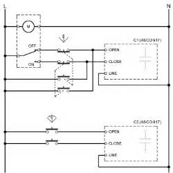 normally open contact schematic symbol normally free