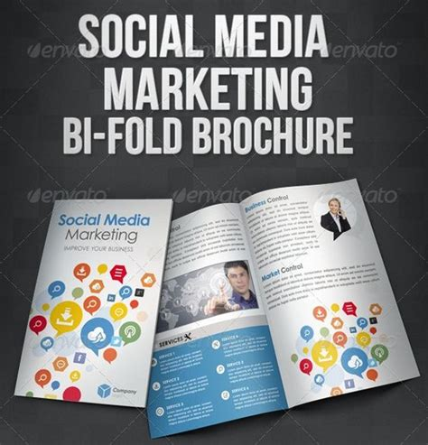 social media brochure template the world s catalog of ideas