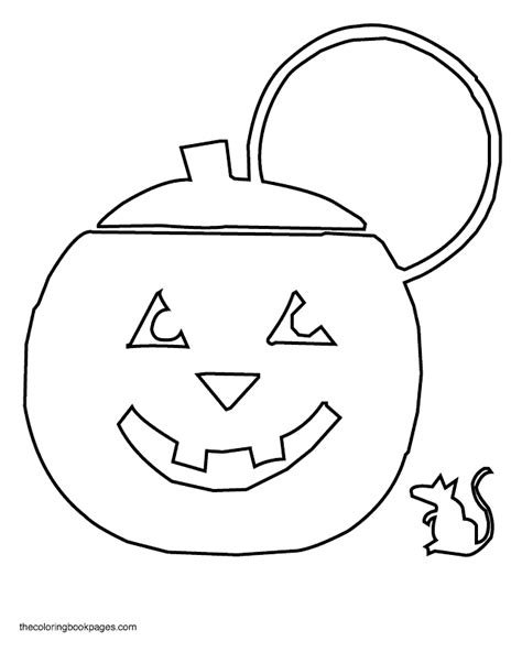 jack o lanterns coloring pages coloring home
