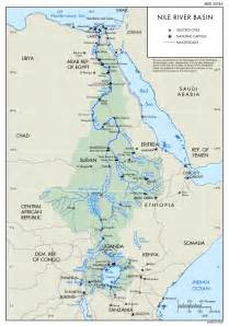river maps nile river map