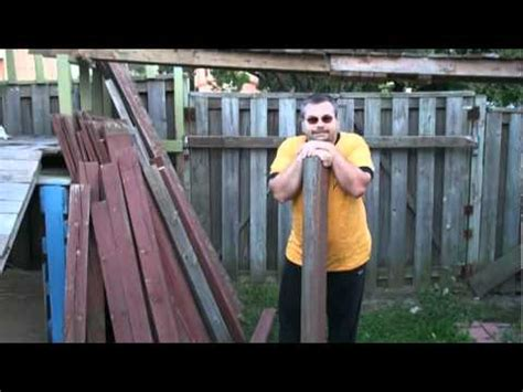 backyard haunted house this haunted house episode i how to make old fence p doovi