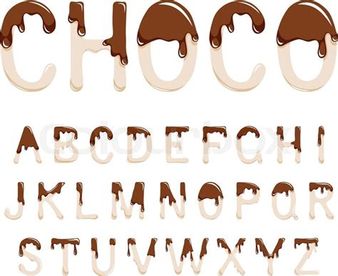 up letter to chocolate 9 chocolate font images you are sweet as sugar