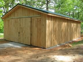 wooden barns woodwork wood pole barn pdf plans