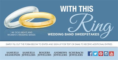 Wedding Ring Sweepstakes - samuelsjewelers com with this ring wedding ring sweepstakes