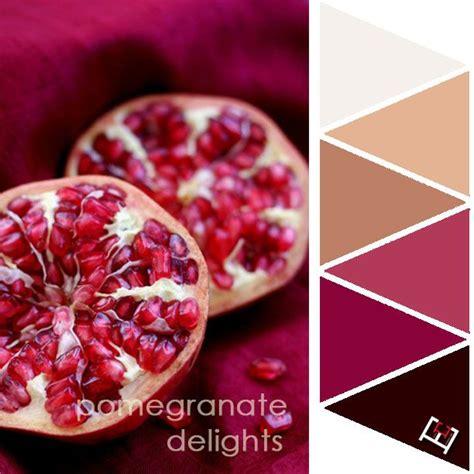 pomegranate color color palette colour palettes pomegranate juice juice