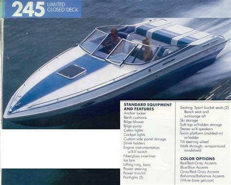 chris craft boats any good anyone else know of any chris craft 245 limiteds page