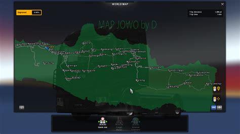 mod map indonesia game ukts ets2 map jowo v7 master game mod ukts indonesia bus ets2
