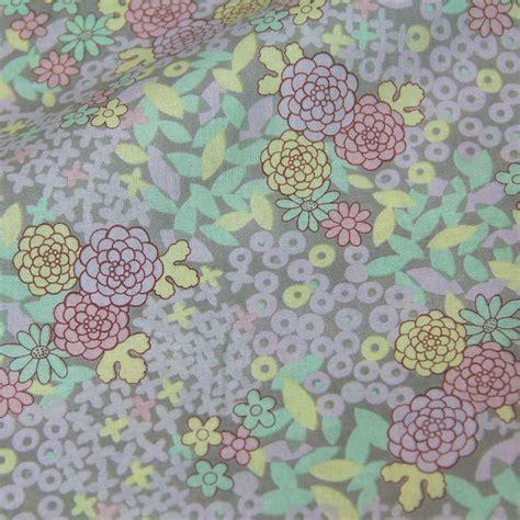 flower pattern dress fabric 50cm 110cm japanese patchwork fabrics textile quilting