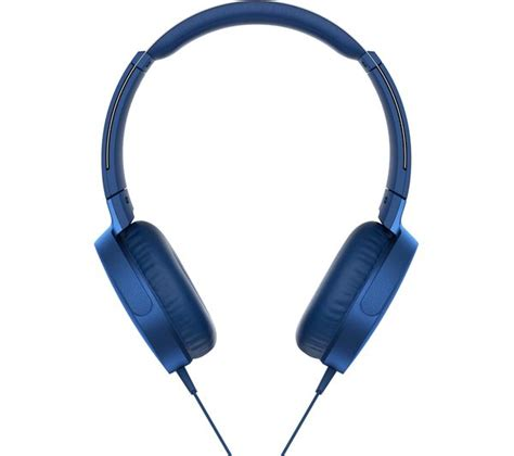 Sony Earphone Mdr Ex150apl Blue buy sony bass mdr xb550ap headphones blue free delivery currys