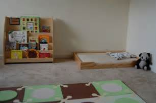 Best Bed Frames For Wood Floors Montessori Floor Bed With Low Wood Frame Via Bedstart
