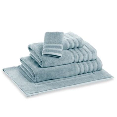 light blue bath towels buy light blue and white towels from bed bath beyond