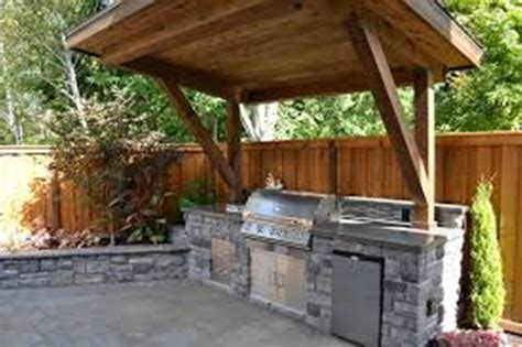 rustic outdoor kitchen designs for small spaces home improvement 2017