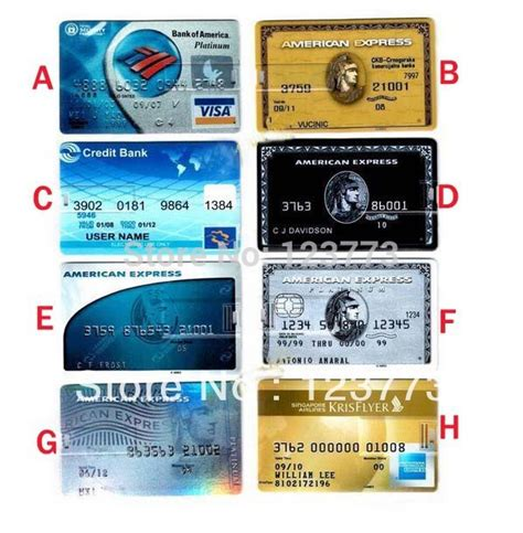 Buy Amex Gift Card In Store - aliexpress com buy free shipping 10pcs lot american express cards model usb 2 0