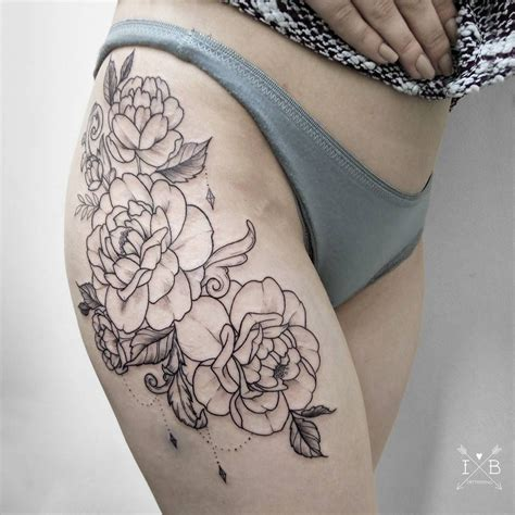 camellia japonica by irene bogachuk ib tattooing