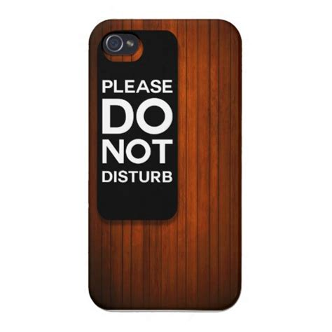 iphone do not disturb do not disturb for iphone 4 zazzle