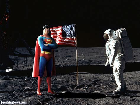 Superman On The superman on the moon pictures