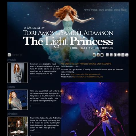 Tori Amos The Official Website | tori amos the official website pearltrees