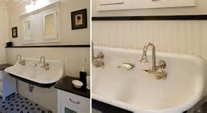 farm sink bathroom black and white bathrooms trough sinks country inspired
