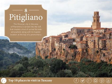 best places to visit in tuscany top 10 places to visit in tuscany