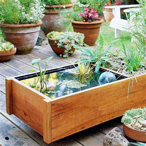 21 fascinating low budget diy mini ponds in a pot 237 que