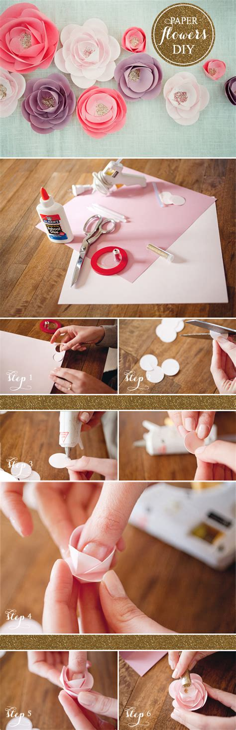 How To Make Handmade Paper Roses - diy paper flowers tutorials philly in