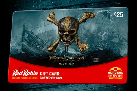 Red Robin Pirates Gift Card - free stuff finder the best free stuff free sles freebies