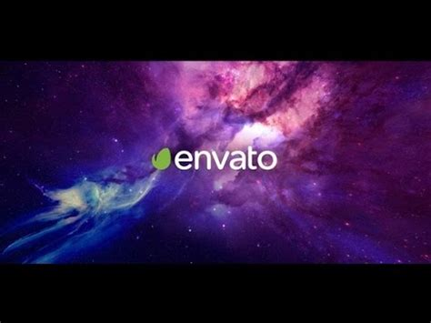 Space Logo Intro After Effects Template Youtube Space After Effects Template