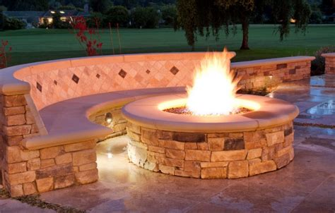 adorable backyard gas pit in how to build a hgtv