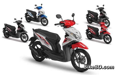 honda beat scooter feature review bikebd