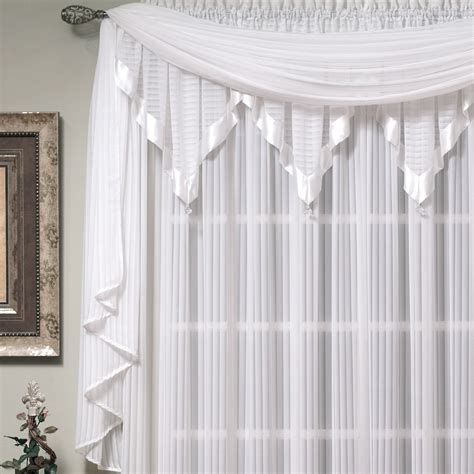 speisekammer vogelhaus scarf window treatments nimbus stripe scarf valance