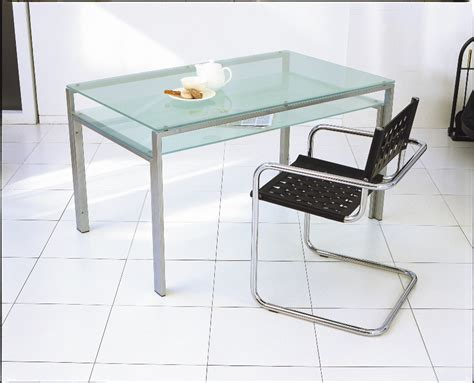 mirage   Rakuten Global Market: Glass dining table 1300x800mm / silver frame and clear glass